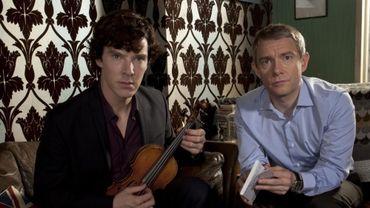 """""""Sherlock"""" reprendra ses enquêtes au 1er janvier sur la BBC"""