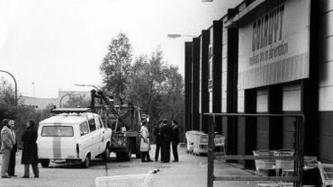 17 septembre 83 dans un colruyt de Nivelles.