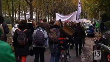 Une marche anti-TTIP a eu lieu le 15 octobre à Bruxelles