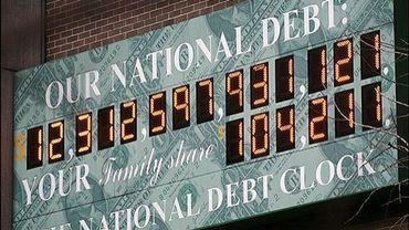 Le compteur de la dette publique américaine qui ne cesse d'augmenter