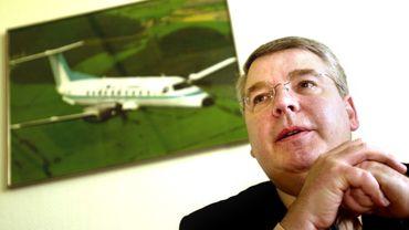 Christian Heinzmann en avril 2002 lorsqu'il se retrouve à la tête de la SNCB.