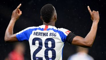 """Passeur et """"voleur"""" de but, Lukebakio mène le Hertha Berlin vers la victoire contre Leverkusen"""