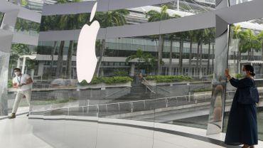 Le fabricant de l'iPhone compte bien mettre en place début 2021 une mise à jour.