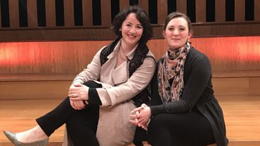 Marianne Croux et Charlotte Wajnberg, en demi-finale