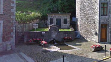 La Fontaine de l'Ours à Andenne