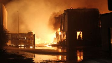 La police avait demandé aux habitants de fermer les fenêtres durant l'incendie (photo d'illustration).