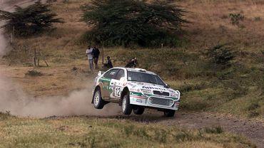 La Skoda Octavia WRC de Bruno Thiry lors du Safari Rally 2001