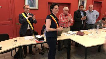 La MR Virginie Defrang-Firket est la nouvelle bourgmestre de Neupré
