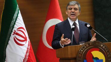Le président Abdullah Gul le 10 juin 2014 à Ankara.
