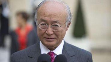 Yukiya Amano, le directeur de l'AIEA, pense que les sanctions n'ont pas fait plier l'Iran sur son programme nucléaire
