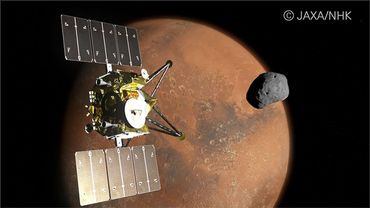La NHK va collaborer avec la JAXA pour sa mission Martian Moons eXploration (MMX).