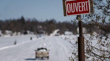 """Au Québec, les """"ponts de glace"""", une tradition à la merci du réchauffement"""