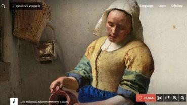 Le Rijksmuseum d'Amsterdam met à votre disposition plus de 700.000 œuvres, à télécharger gratuitement