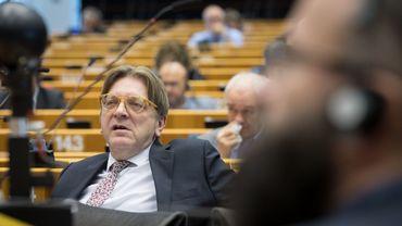 Guy Verhofstadt est administrateur de la Sofina et de Theodorus III, le fonds de l'ULB dédié aux spin-off et start-up. Une partie de ses revenus proviennent également de ses prises de parole.