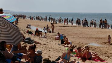 Côte belge: attention, toutes les zones de baignade ne sont pas encore surveillées