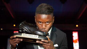 Anthony Limbombe remporte le Soulier d'Ébène 2018