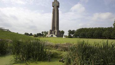 La tour de l'Yser, à la fois  souvenir de la 1ère Guerre et symbole du nationalisme flamand.