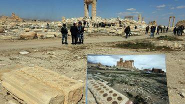 L'EI ne détruit pas seulement les sites archéologiques, elle les pille aussi (ici: Palmyre)