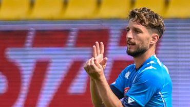 Dries Mertens a repris l'entraînement individuellement à Naples