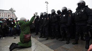 Plusieurs manifestations ont éclaté dans le pays en soutien à Alexeï Navalny