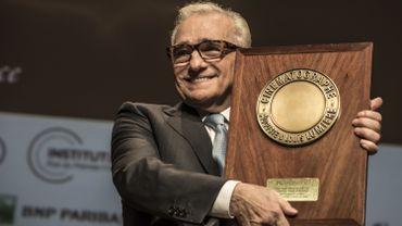 Le réalisateur américain Martin Scorsese a reçu le septième Prix Lumière, pour l'ensemble de son œuvre