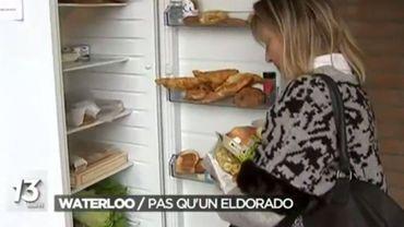 A Waterloo, chaque jour, près de 120 personnes bénéficient du frigo solidaire.