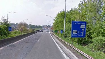 L'A501, axe de pénétration vers La Louvière, est bloquée ce lundi matin