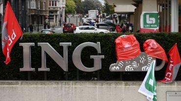 La suppression des 3150 temps pleins d'ING va coûter 615 millions d'euros