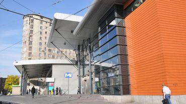 Gare de l'Ouest, à Molenbeek.