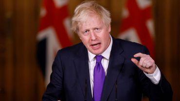 Le Premier ministre Boris Johnson à Londres, le 2 décembre 2020.