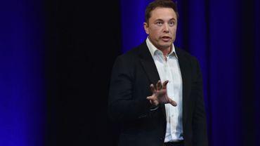 Elon Musk le 29 septembre 2017, à Adélaïde, en Autraslie