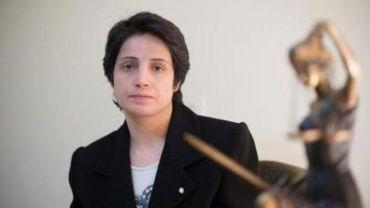 Des activistes réclament la libération de Nasrin Sotoudeh, prisonnière politique iranienne condamnée à 6 ans de prison