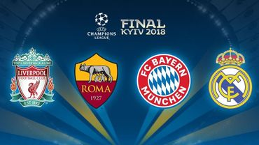 Bayern-Real Madrid et Liverpool-AS Roma, les chocs des 1/2 en Ligue des Champions