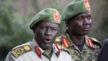 Le general Dau Athorjang, ancien dirigeant de SPLA