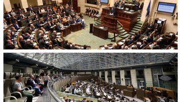 Enjeux en Flandre (Chambre et parlement flamand)