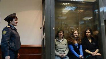 Le procès en appel des Pussy Riot à Moscou