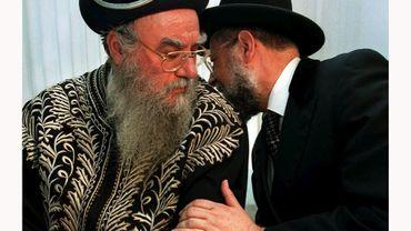 Archvies: deux rabbins israéliens en 1997.
