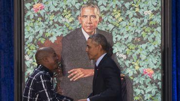 Kehinde Wiley et Barack Obama