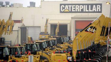 usine Caterpillar Gosselies