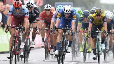 Jakobsen règle Kittel et Ewan et gagne la 1ère étape du Binckbank Tour