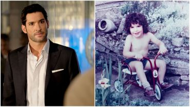 """Les adorables photos des acteurs de """"Lucifer"""" quand ils étaient enfants"""