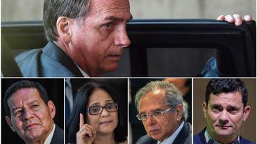 Jair Bolsonaro a nommé 22 ministres, dont sept militaires, deux femmes et aucun Noir
