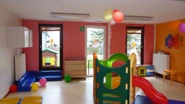Un accueil coloré pour les enfants de mamans en formation ou aux études