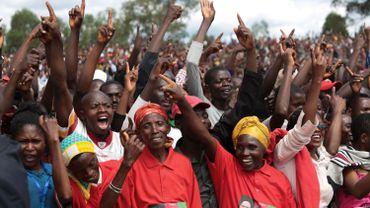 Malgré le coronavirus, la campagne présidentielle a rassemblé les foules.