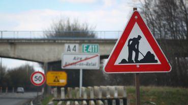 La bretelle d'accès 8A de la E411 à Louvain-la-Neuve fermée de mercredi à vendredi