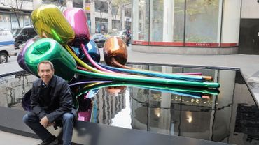 Jeff Koons et ses Tulips, version new-yorkaise