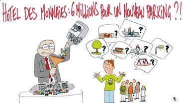 Le dessin refusé par le collège de Saint-Gilles