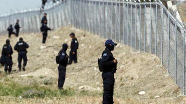 Illustration: des policiers mexicains