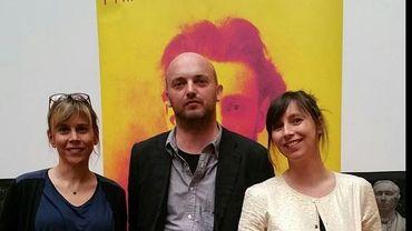 Les lauréats 2015: Luc Mathieu (Liberation), Cécile Allegra et Delphine Deloget pour Voyage en barbarie