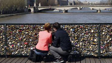 """Ces cadenas """"bouchent les perspectives sur la Seine, une des plus belles perspectives au monde, classée par l'Unesco"""", selon la mairie de Paris"""